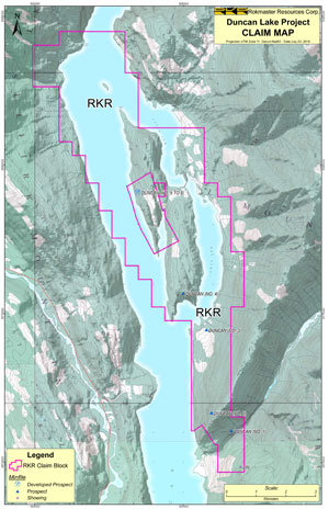 Maps and Figures   Rokmaster Resources Corp. Claim Maps on
